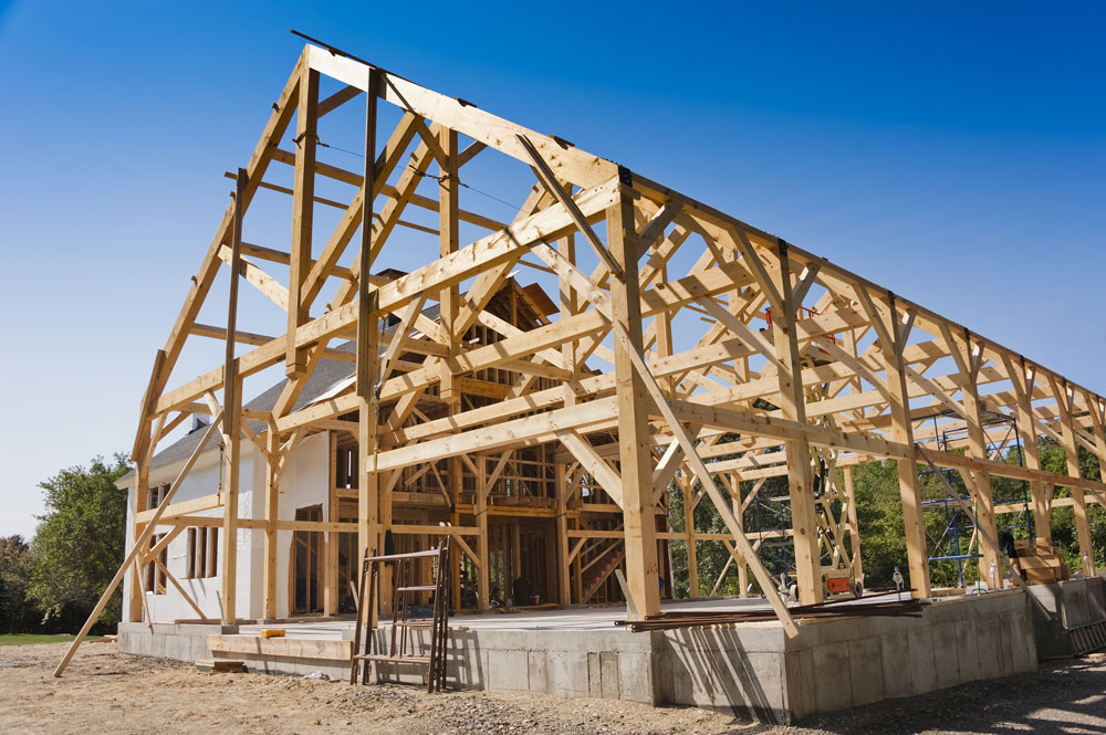 Timber Frame Construction, Timber Frame Services - Clarkson Builders