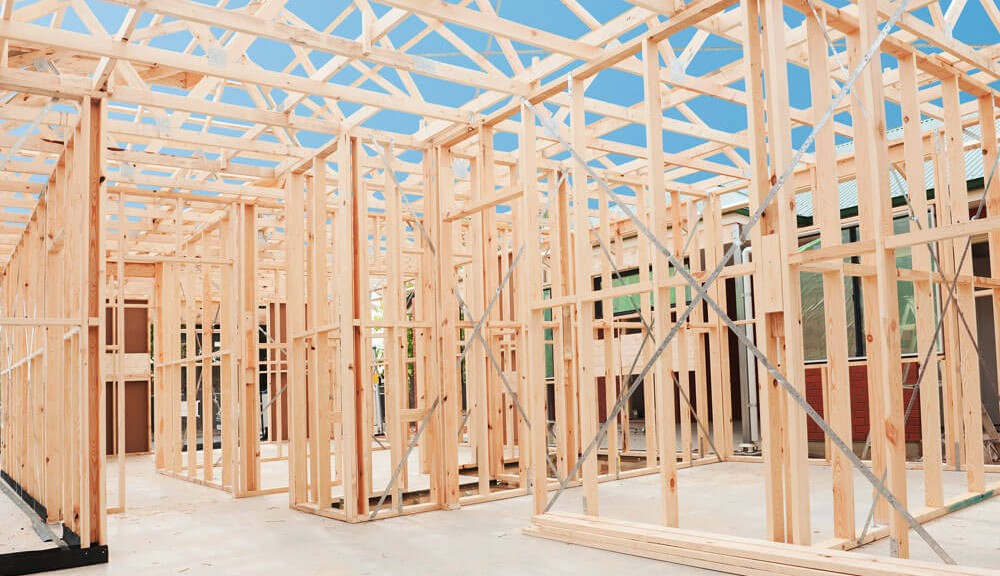 timber frames for building