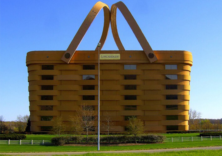 the basket building