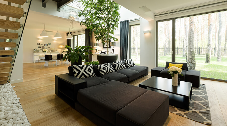modern interior property