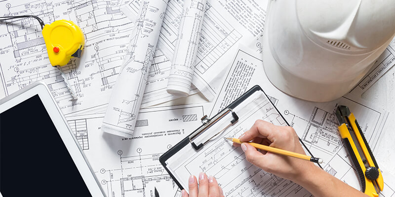 constructing floor plan 1